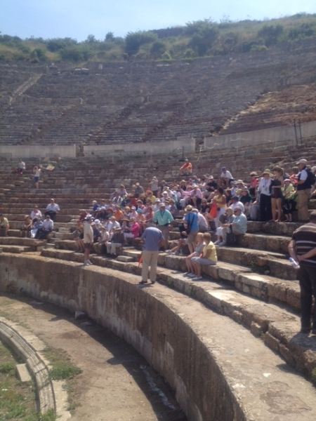 Jim referred to the Biblical Heritage of Ephesus Theater