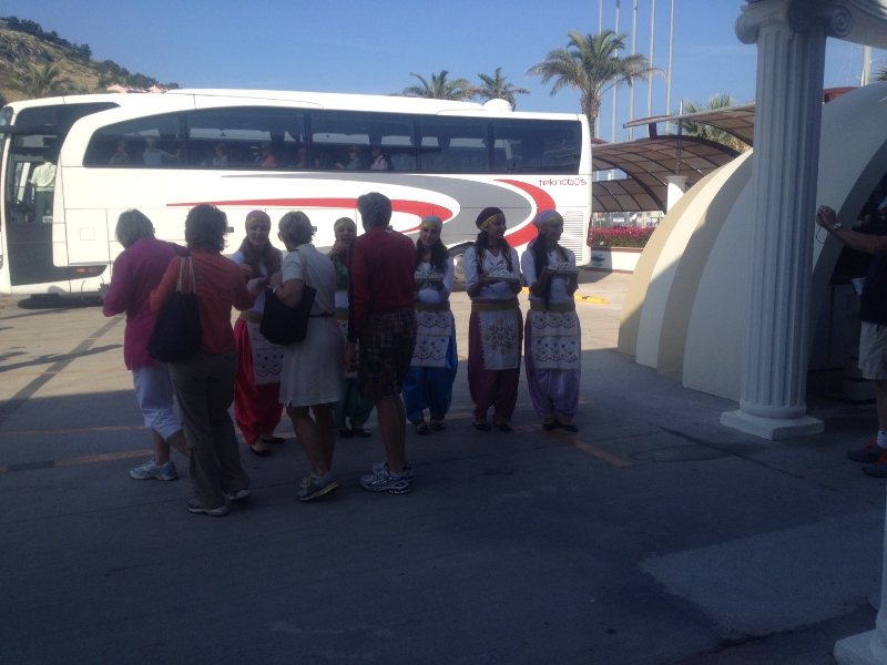 Turkish Hospitality shown by Vanguard Travel Services