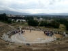 Guides of Vanguard Travel Services are giving indepth information on the theatre of Philippi