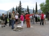 Members of FPC of Houston explored Delphi with explanations of their private guide
