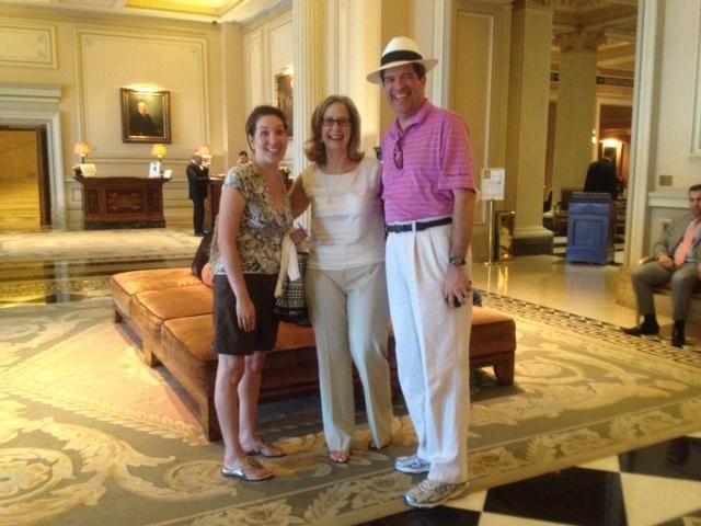 Lisa, Martha and Jim