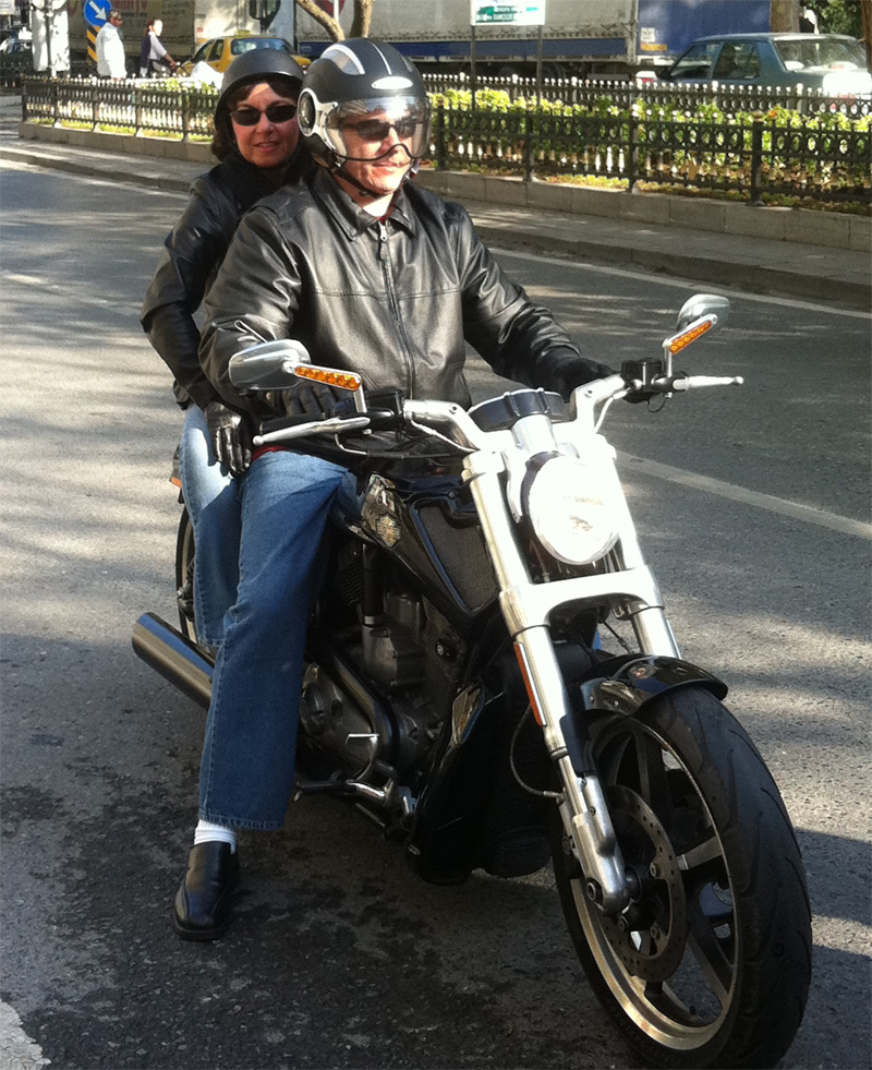 A Morning Ride on a Brand New Harley Davidson